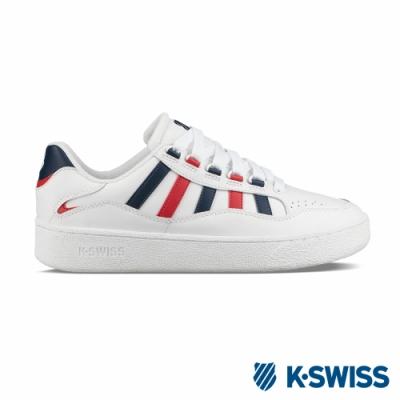 K-SWISS Soto厚底鞋-男-白/藍/紅