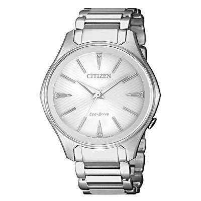 CITIZEN 星辰 LADY'S 典雅切面光動能時尚女腕錶(EM0597-80A)