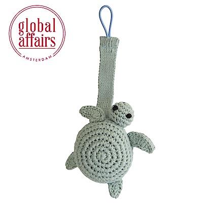 global affairs 童話手工編織安撫奶嘴夾_海洋系列(海龜長老)
