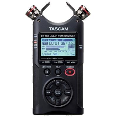 TASCAM DR-40X 攜帶型數位錄音機 公司貨