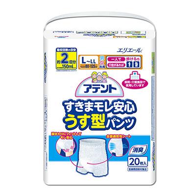 日本大王Attento超透氣防漏復健褲L~LL(20片/包)