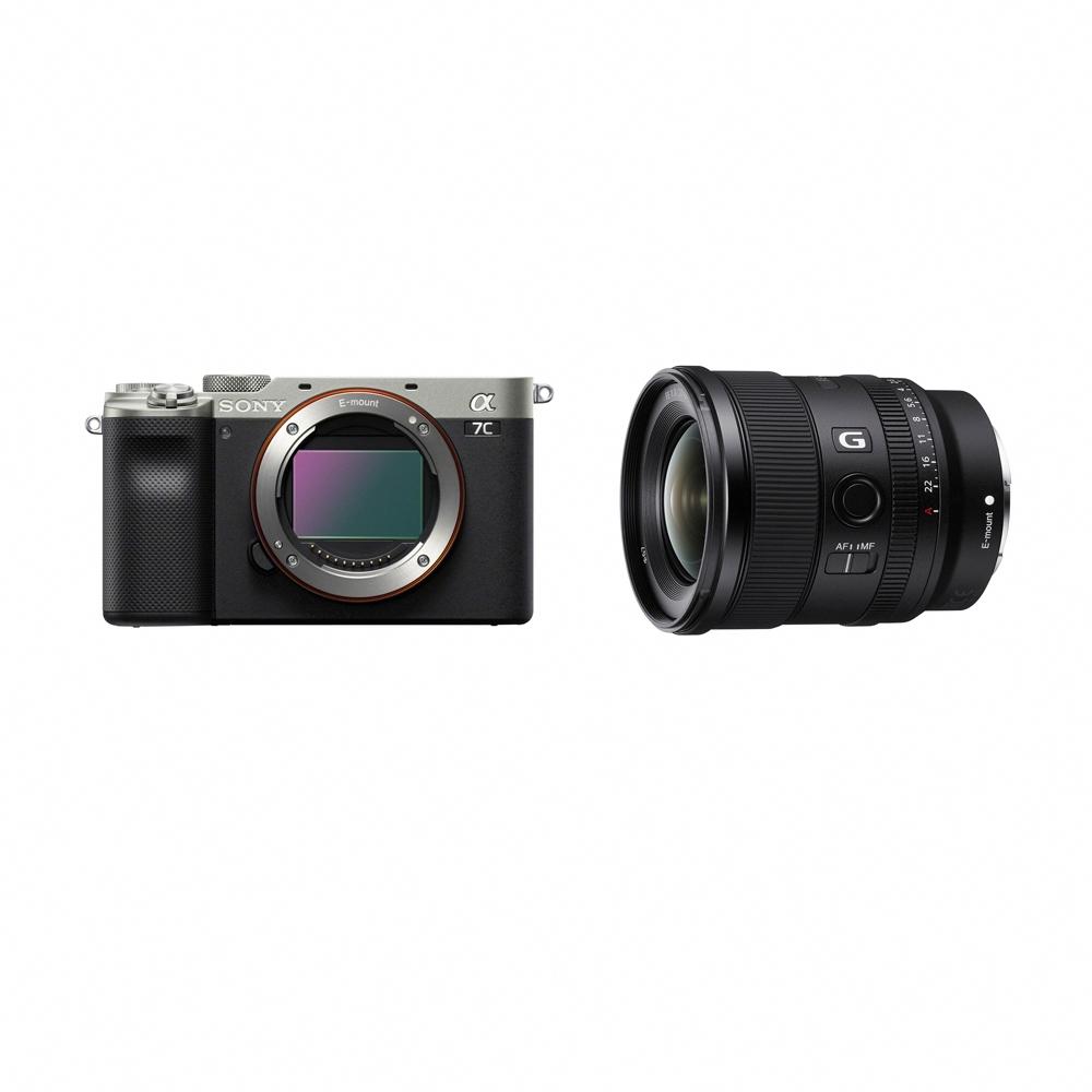 SONY A7C單機身 + SEL20F18G 廣角風景組合(公司貨) FE 20mm F1.8 G product image 1