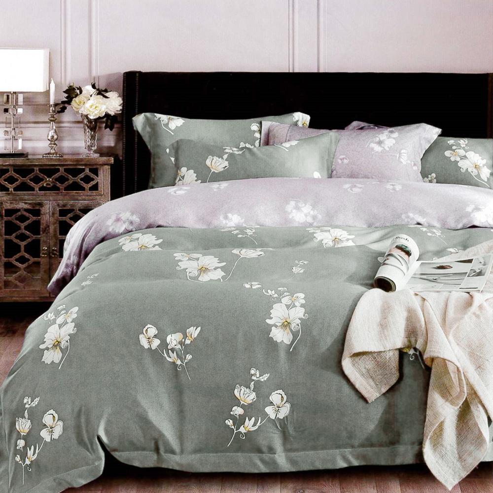 Lily Royal 百分百純天絲涼被床包四件組 特大 芙怡
