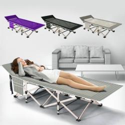 10秒輕鬆折疊床 露營躺椅 (190x71x40cm)【VENCEDOR】