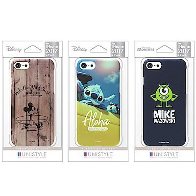 iPhone 8/7 迪士尼 正版授權 皮革漆 手機硬殼 4.7吋