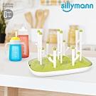 韓國sillymann 100%鉑金矽膠仙人掌奶瓶乾燥架