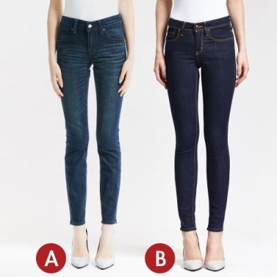 [時時樂限定]BRAPPERS 女款 激瘦完美曲線窄管褲(二款選)