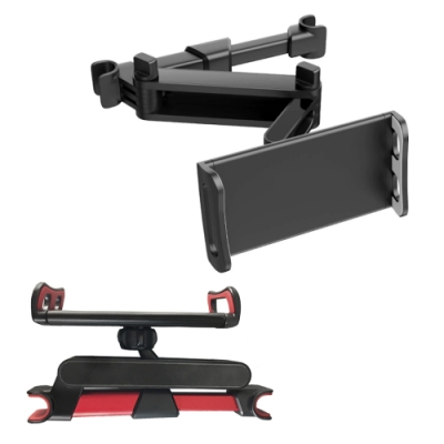 【FJ】車用椅背手機平板支架DS7(適用4-11吋)