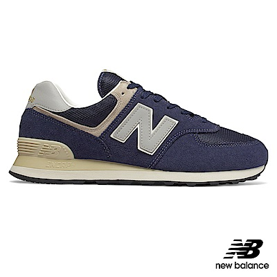 New Balance 復古鞋_ML574VLA_男性_深藍