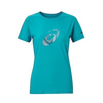 ASICS 女印花T恤 155016-8098