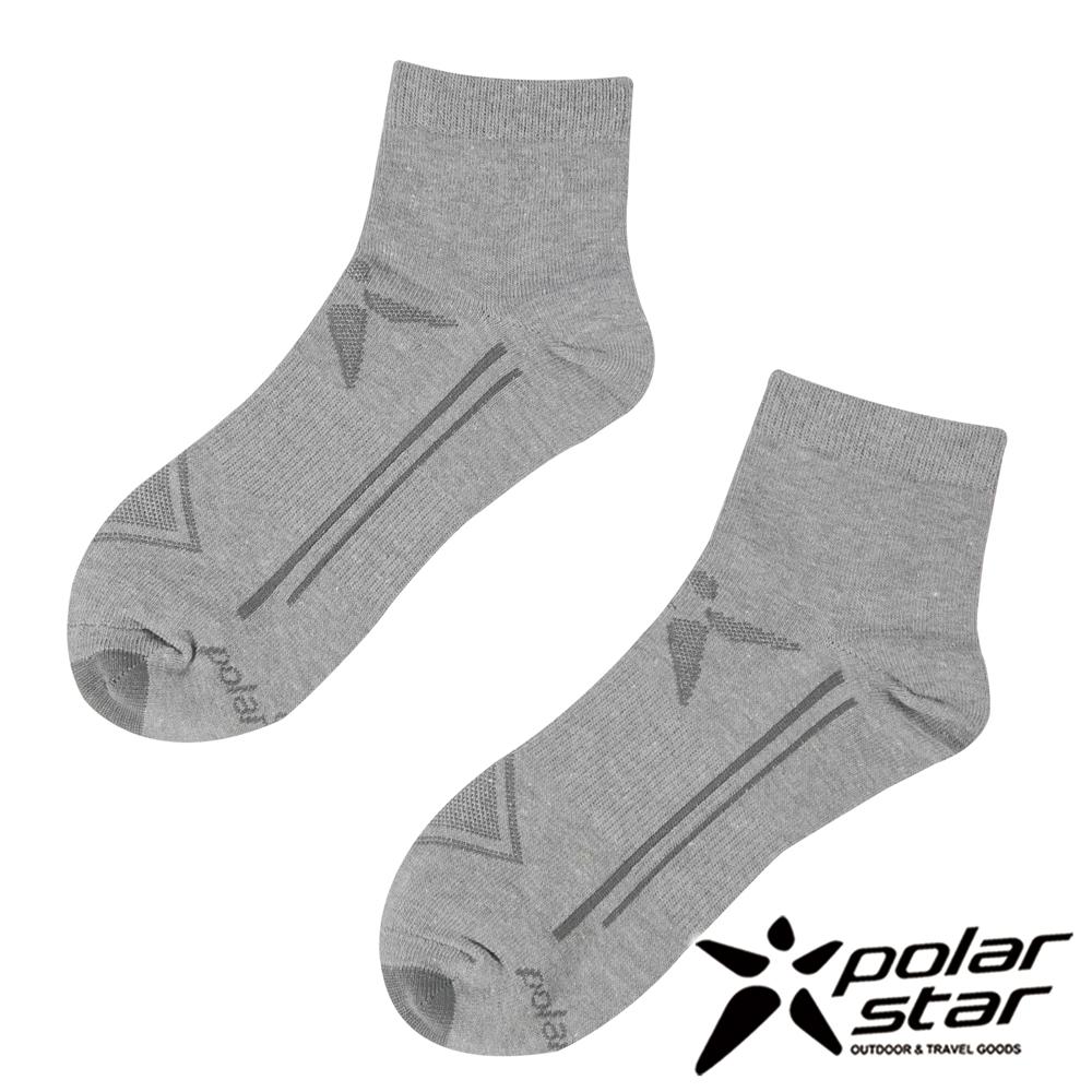 PolarStar 中性排汗短筒襪『灰』(2入) P17521
