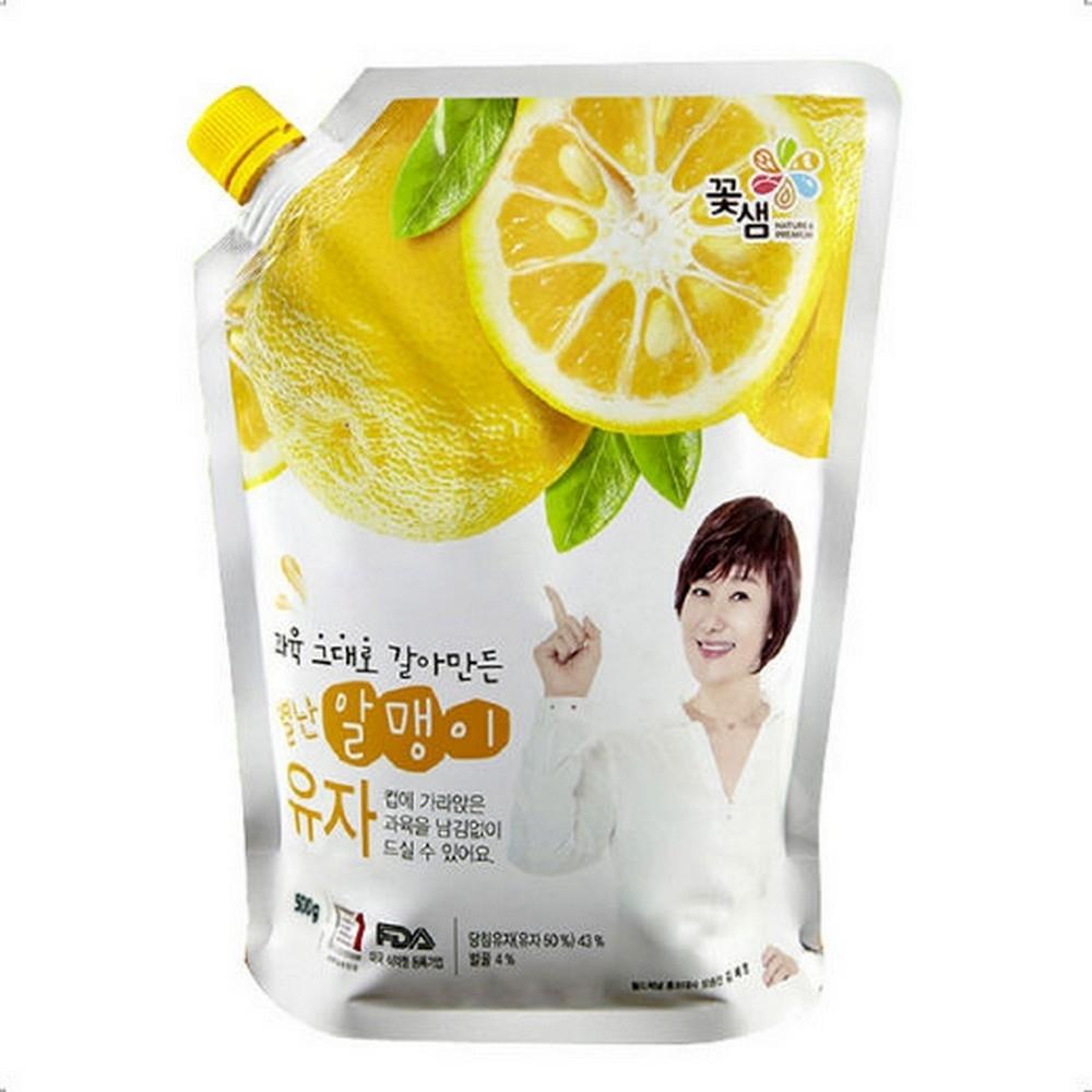 韓味不二 花泉蜂蜜柚子茶-果醬(500g)