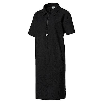 PUMA-女性流行系列Downtown連身裙-黑色-亞規