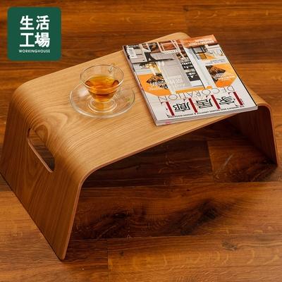 【時時樂獨家-生活工場】自然質樸柳木紋萬用桌