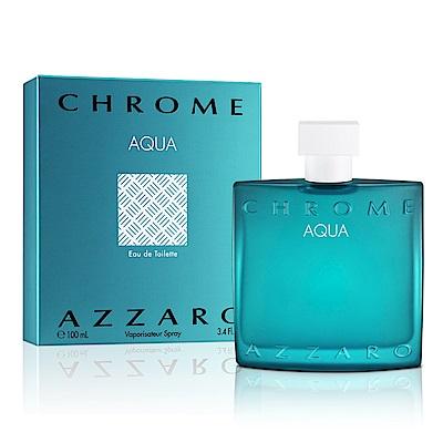 AZZARO chrome aqua 碧海鉻元素男性淡香水100ml