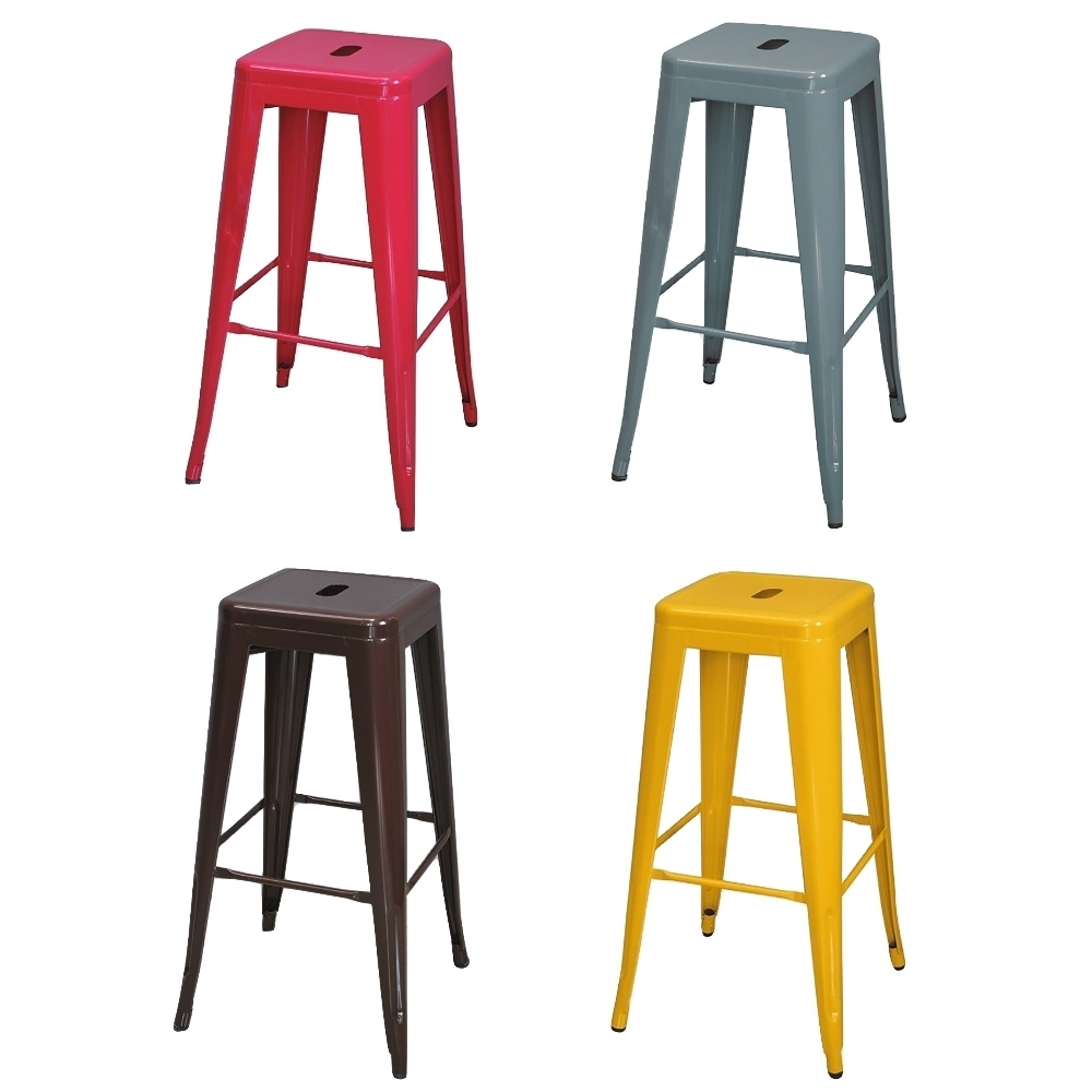 MUNA 全鋼吧檯椅/休閒椅(單只) 30X30X77cm