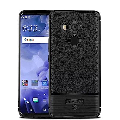 IN7 荔枝紋系列 HTC U11 Plus (6吋)硅膠TPU保護殼