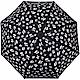 KARL LAGERFELD K/IKONIK 滿版老佛爺多表情印花自動摺疊傘 product thumbnail 1