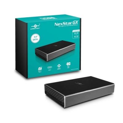 凡達克-NexStarR GX USB3.1 Type-C 3.5吋硬碟外接盒