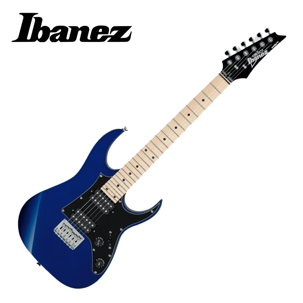 IBANEZ GRGM21M JB miKro 電吉他 珠寶藍色款