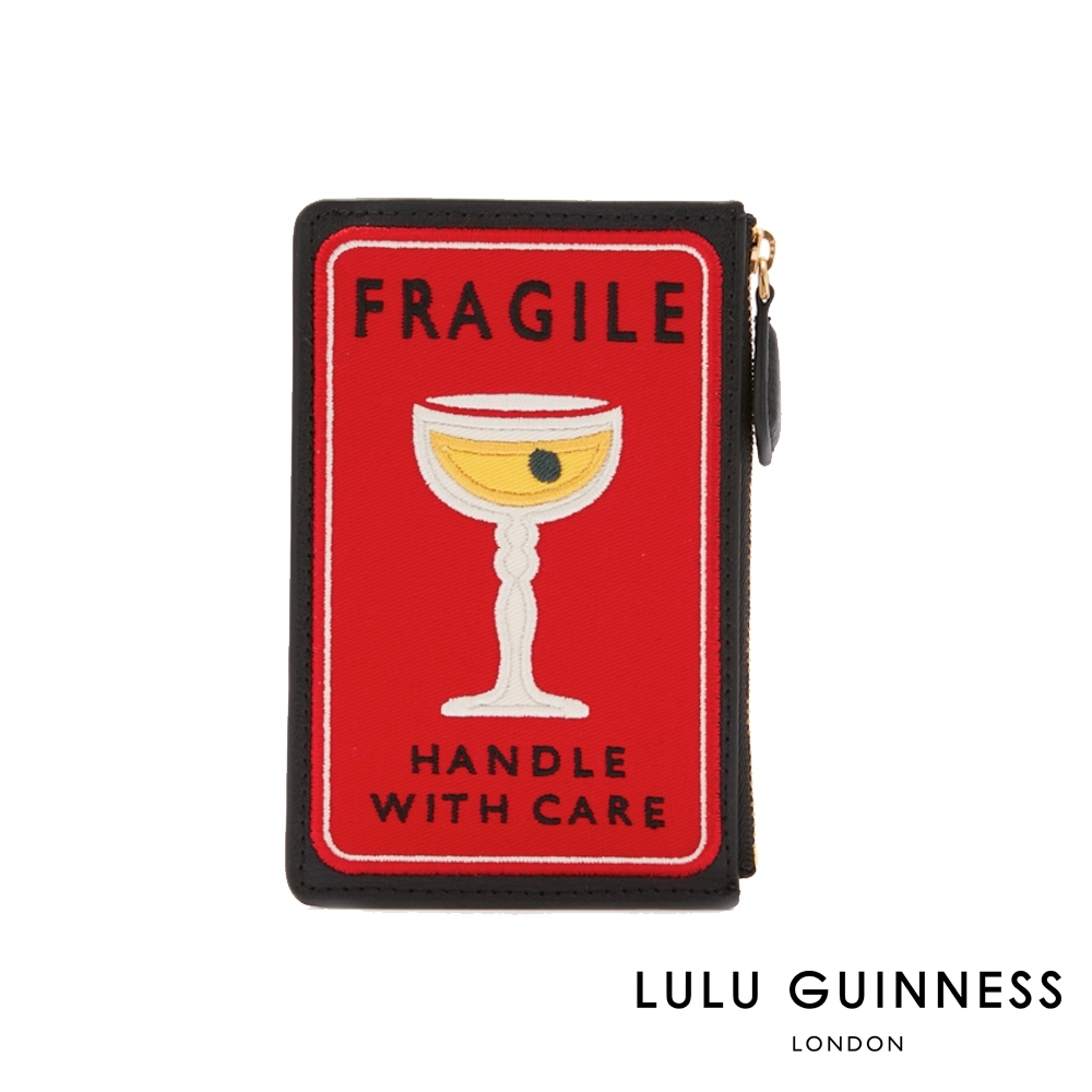 LULU GUINNESS LOTTIE 零錢包 (FRAGILE TRAVEL)