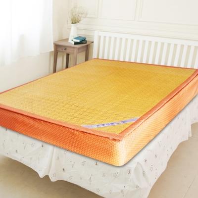 凱蕾絲帝-加厚御皇三D紙纖柔藤可拆式床包<b>1</b>.2CM涼墊(雙人加大6尺)