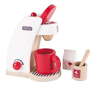 【德國Hape愛傑卡】咖啡製作機-紅白限量版