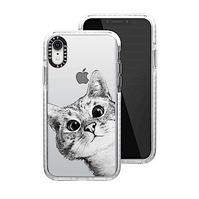 Casetify iPhone XR 耐衝擊保護殼-躲貓貓