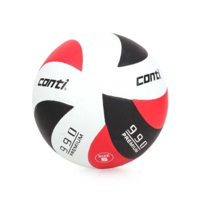 conti 5號頂級超世代橡膠排球 CONTI 紅黑白