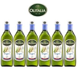 Olitalia 奧利塔玄米油禮盒組(750mlx6瓶)