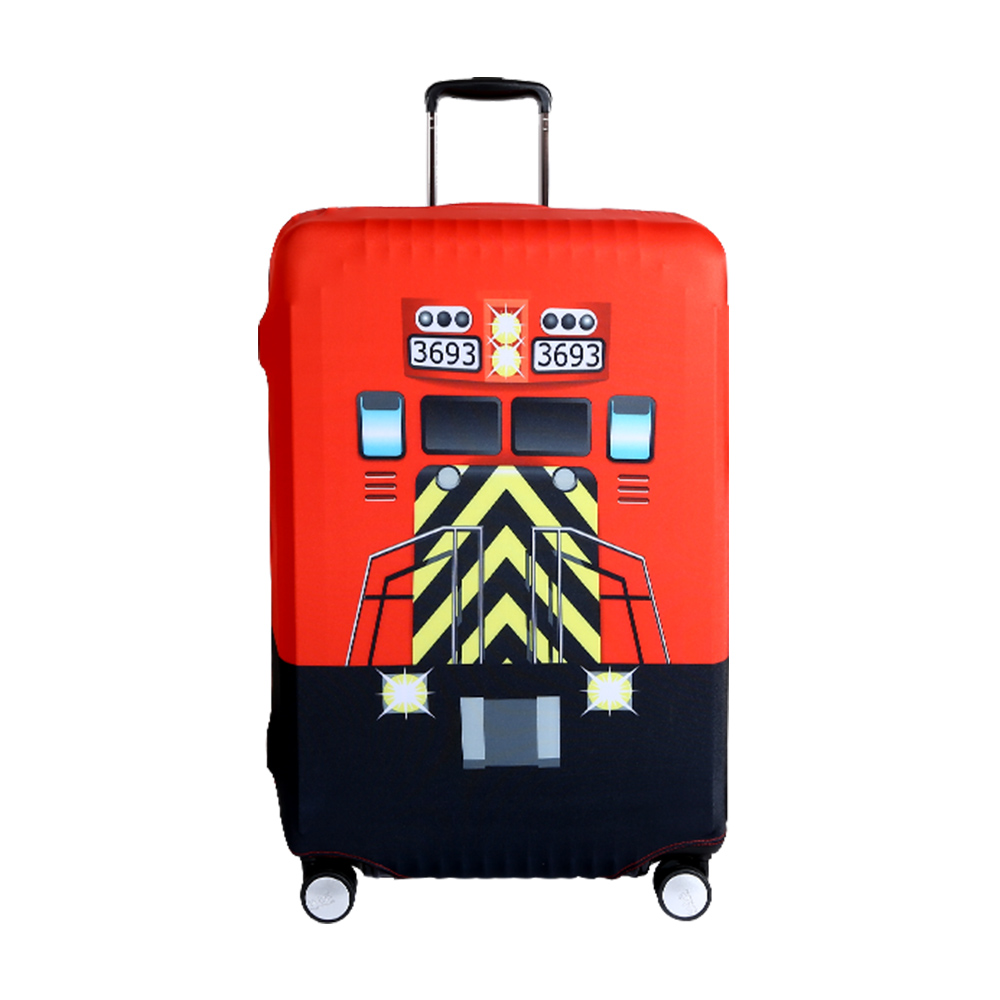 高彈性行李箱套 適用26-29吋-快樂火車