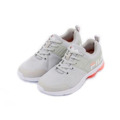 FILA 女性輕量慢跑鞋-淺灰 5-J905T-115