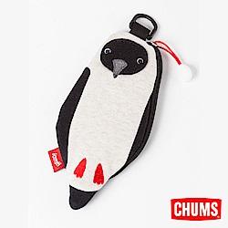 CHUMS-SxN Booby造型卡夾/零錢包-霧米白