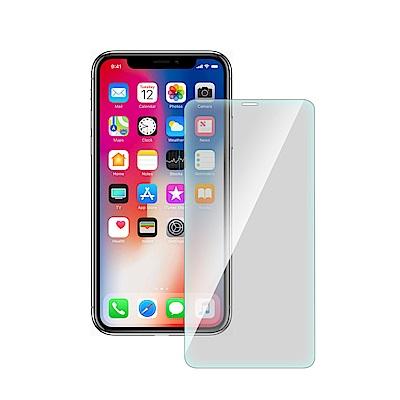 台灣嚴選 減藍光 iPhone Xs 非滿版疏水疏油鋼化玻璃保護貼(5.8吋)