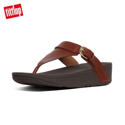 FitFlop EDIT TOE THONGS 琥珀棕