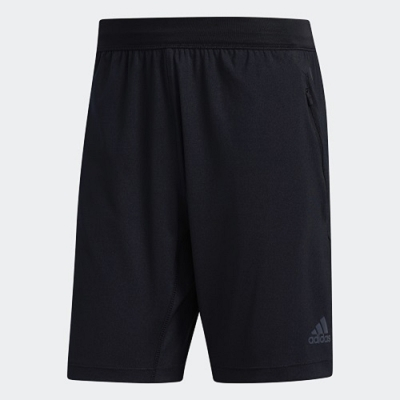 adidas 短褲 運動短褲 休閒 男款 黑 FJ6129 HEAT.RDY