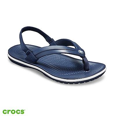 Crocs 卡駱馳 (童鞋) 小卡駱班人字拖-205777-410