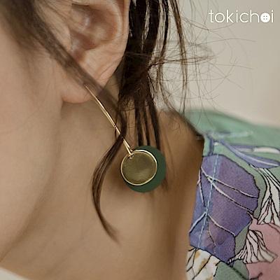 東京著衣 簡約大氣時尚耳針式耳環(共一色)