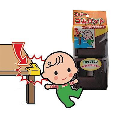 日本 CAR-BOY-桌角防護軟墊-小16入(棕色)