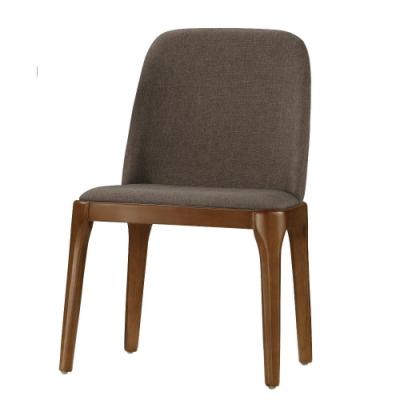 MUNA 艾文餐椅(布)(實木)(4入)  57X52X85cm