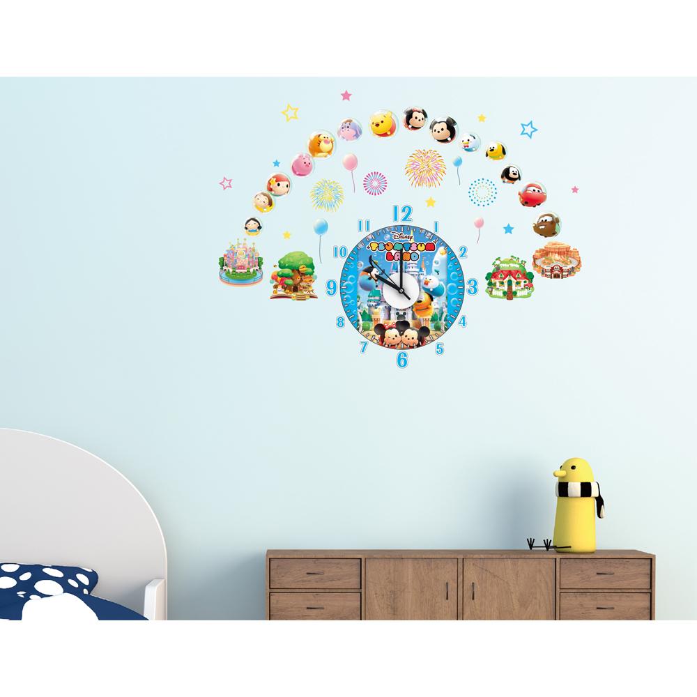 【itaste小品味】迪士尼-TSUM TSUM系列時鐘壁貼