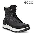 ECCO EXOSTRIKE 突破極限高筒防水運動戶外靴 男-黑