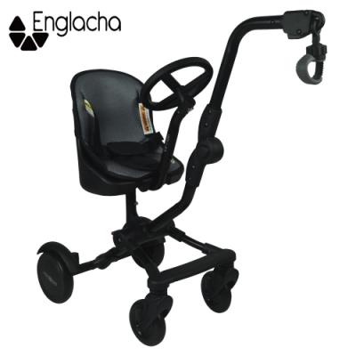 美國【Englacha】Uptown Rider輕便型拖掛車/二胎神器