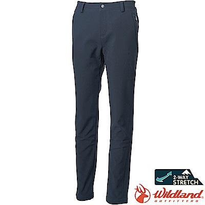 Wildland 荒野 0A62315-93深灰色 女SOFTSHELL保暖長褲