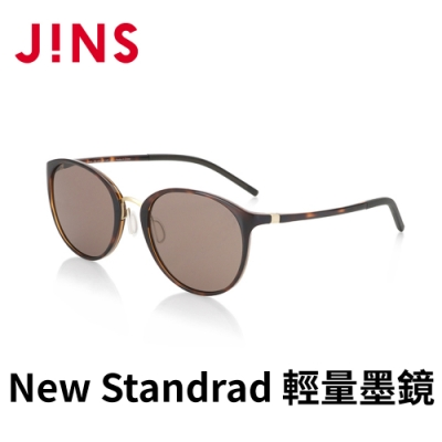 JINS&SUN New Standrad 輕量墨鏡(ALUF21S104) 木紋棕