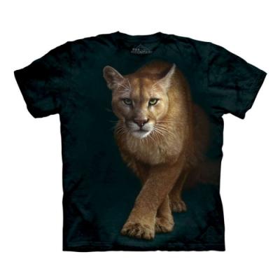 摩達客-美國進口The Mountain 狩獵獅 純棉環保短袖T恤(大尺碼 3XL)