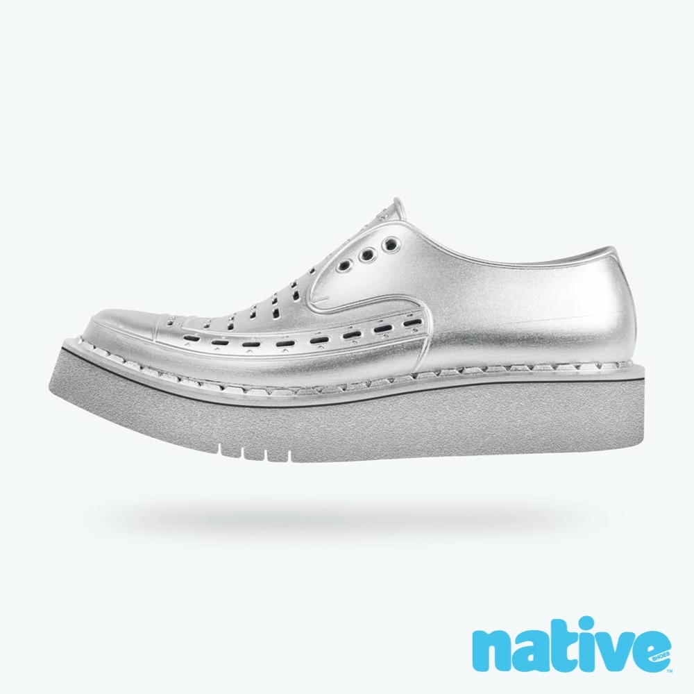 native DIANO 男/女鞋-未來銀