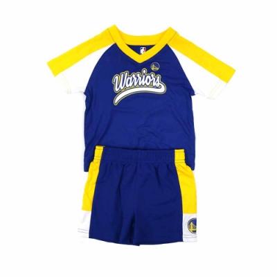 NBA 新生兒 短袖套裝 勇士隊