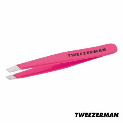 Tweezerman 中型管裝專業斜口鑷-螢光粉