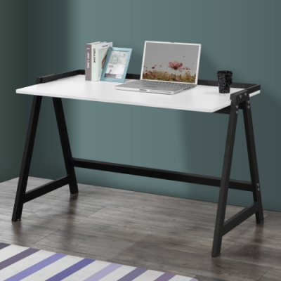 MUNA 簡約4.2尺鐵框書桌/工作桌(共兩色) 126X60X77cm